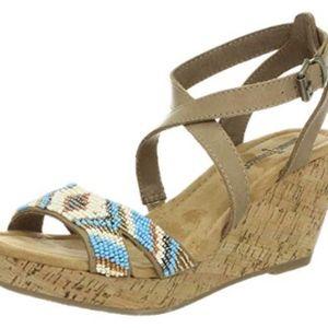 Minnetonka Beaded Shoes